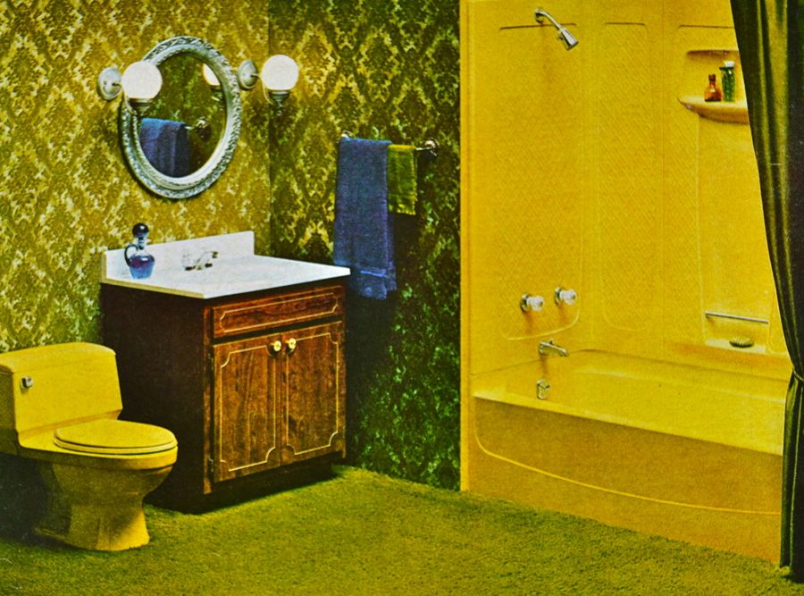 Better homes and gardens dated 1970 to 1973 dcrtn for 1970 bathroom decor