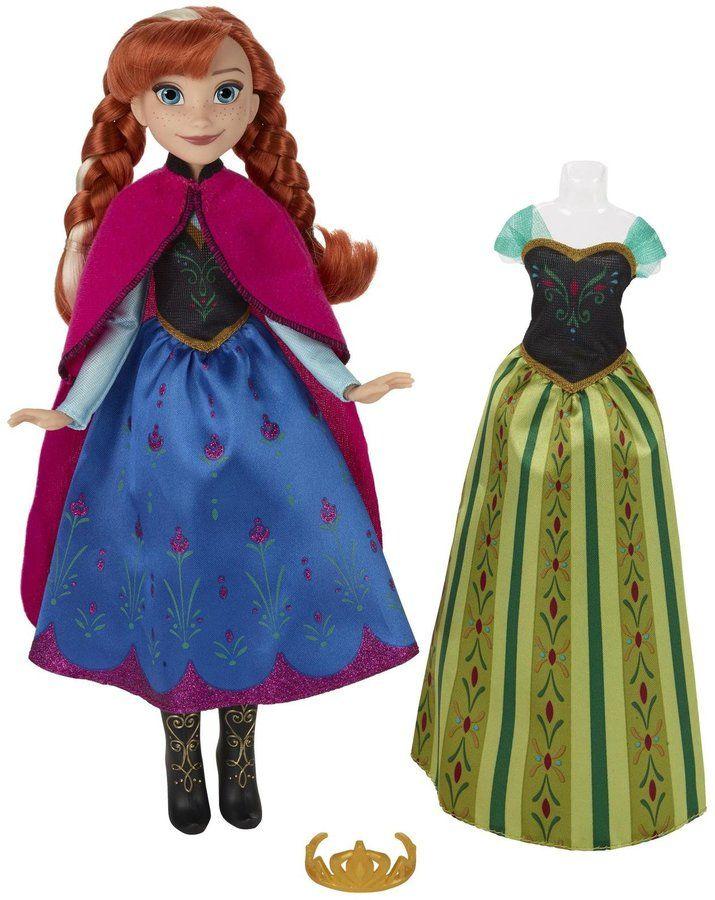 Disney Frozen Fashion Change Doll Anna