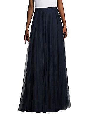 Jenny Yoo Winslow Tulle Long Skirt -