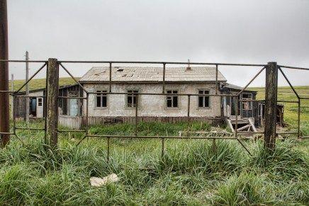 Russian Far East Lavrentiya - abandoned home