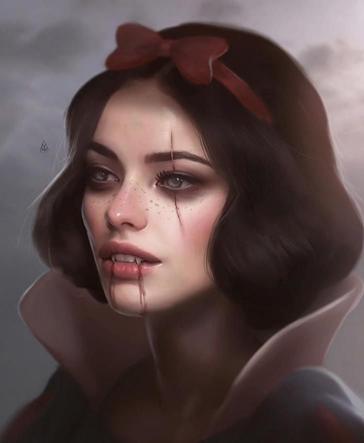 Vampy Snow White #snowwhite