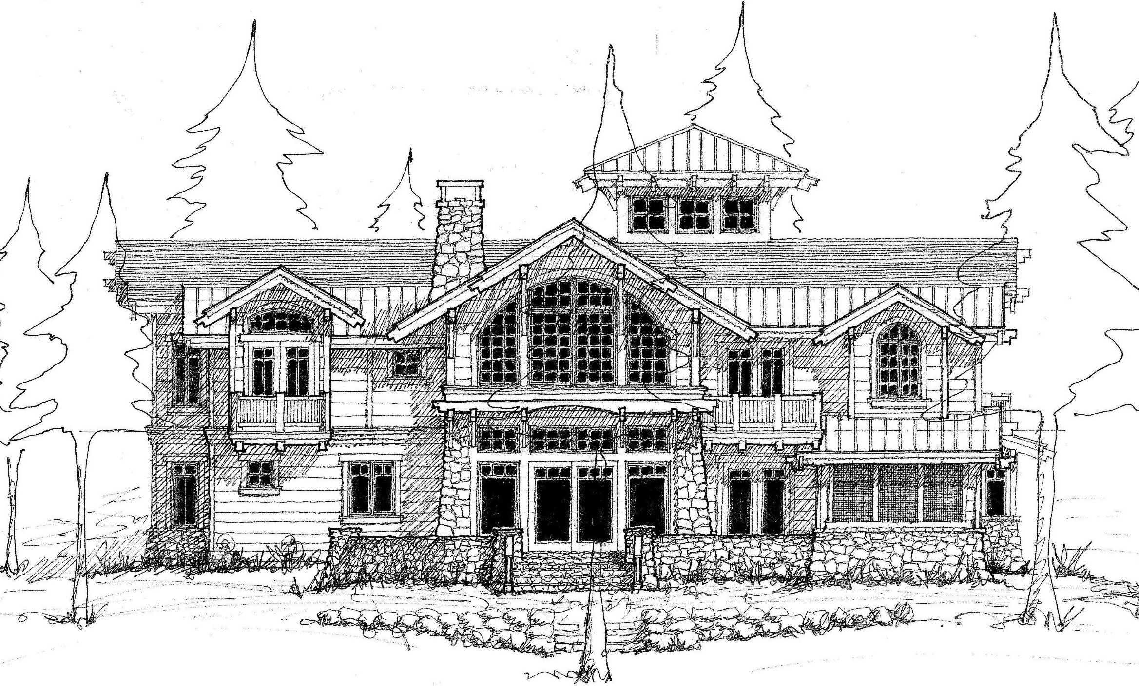 10 images about elevation sketch on Pinterest Construction drawings  Sketching and House sketch  10 images. Architect House Drawings