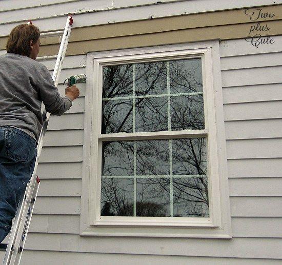 Adding A Drip Cap To Existing Windows Windows Drip Edge Home Improvement