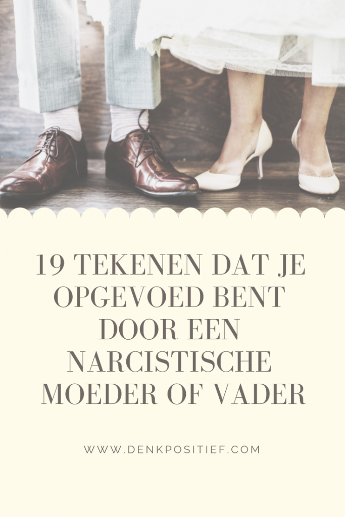 Tekenen je bent een narcist man dating