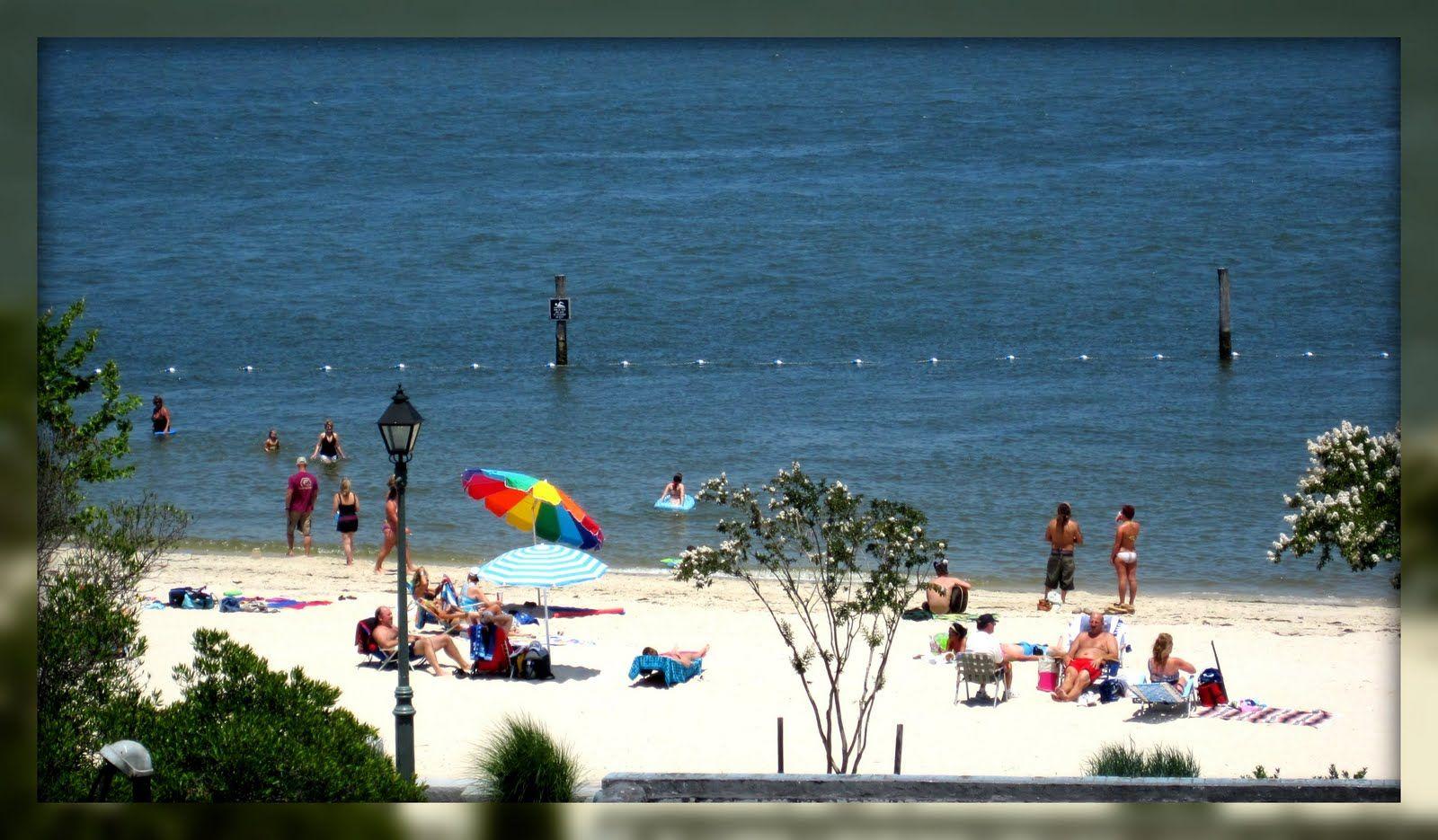 Yorktown Beach At Riverwalk Landing Virginia