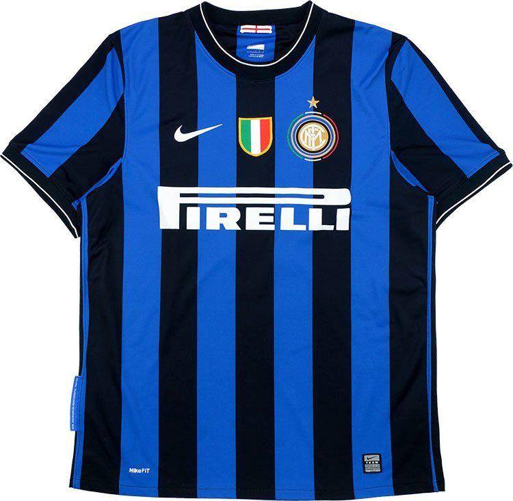 FC Internazionale Milano (Italy) - 2009 2010 Nike Home Shirt ... dfaddcd765eb9