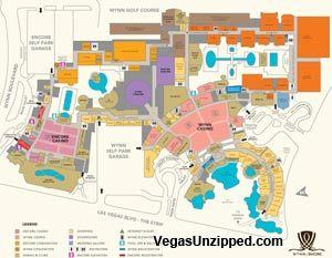 Wynn Encore Hotel property map Lets take a trip Pinterest