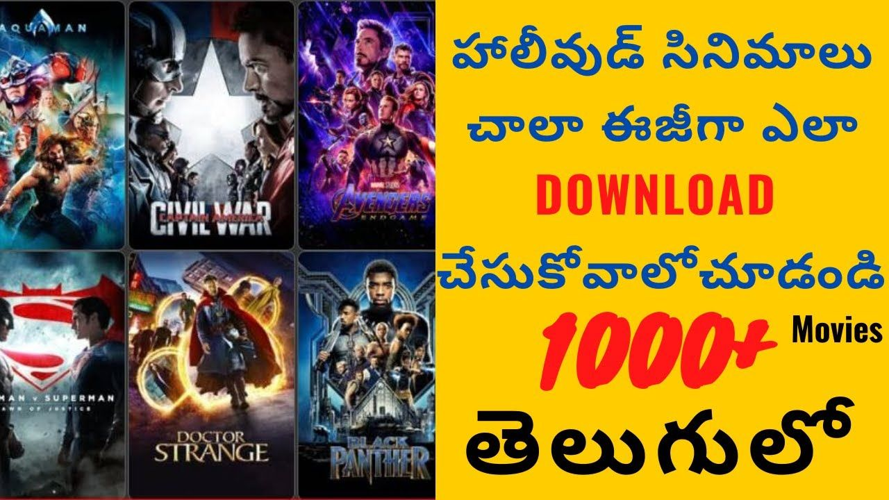 How to download telugu dubbed hollywood movies very easy