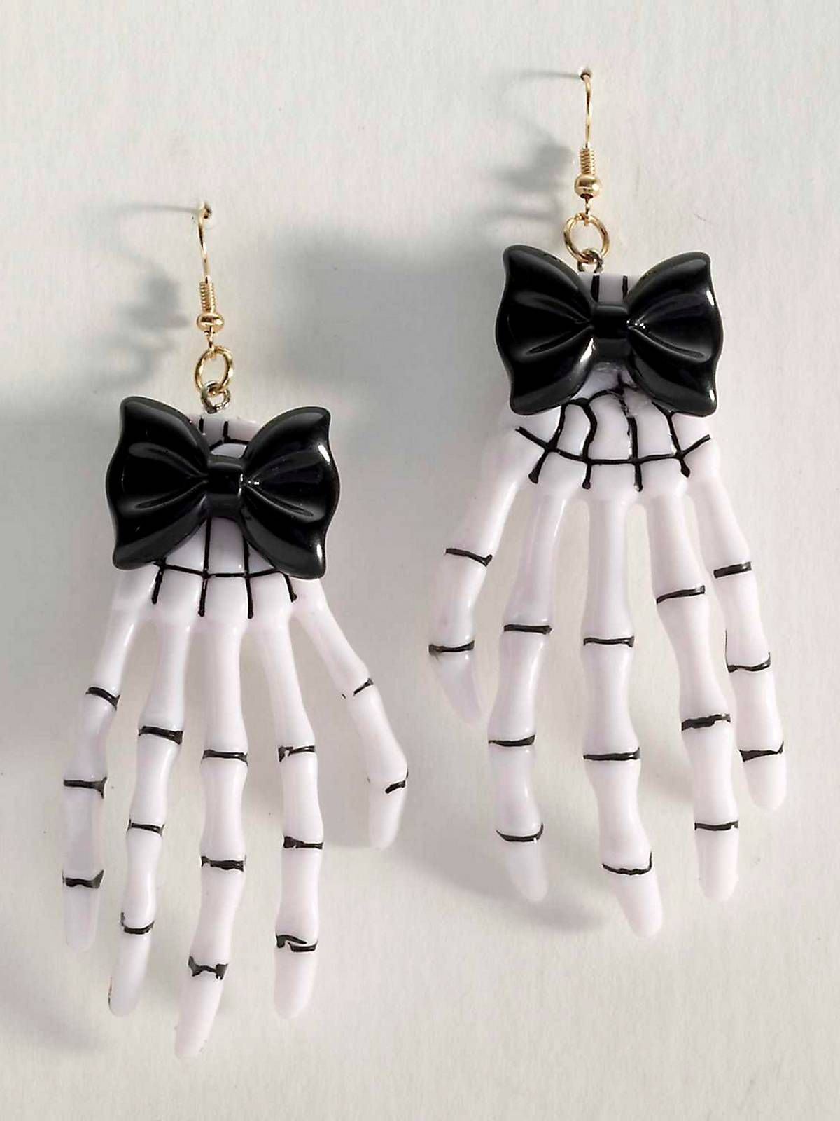 Skeleton Hand Earrings Punk/Gothic Accessories & Makeup