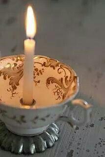 Xícara para iluminar