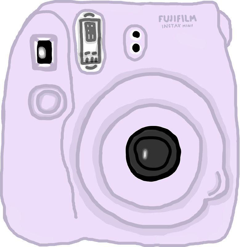 Purple Pastel Polaroid Tumblr With Images Tumblr Stickers