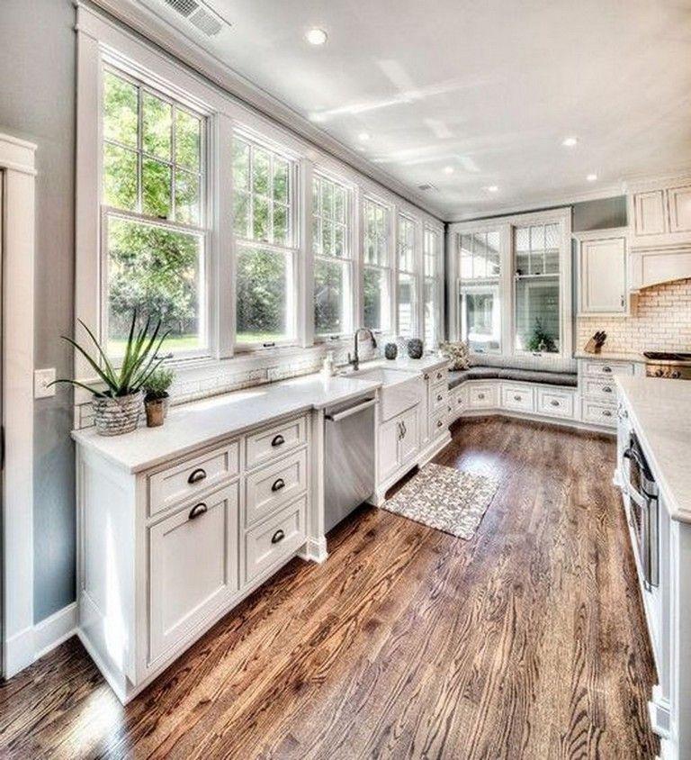 40 elegant white kitchen design ideas for your home