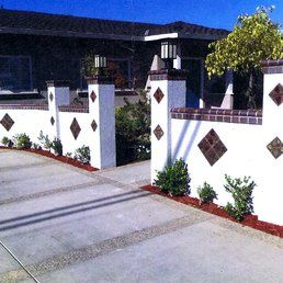 Stonelight Tile - San Jose, CA, United States. Exterior Custom Tile by Stonelight Tiles San Jose Showroom.