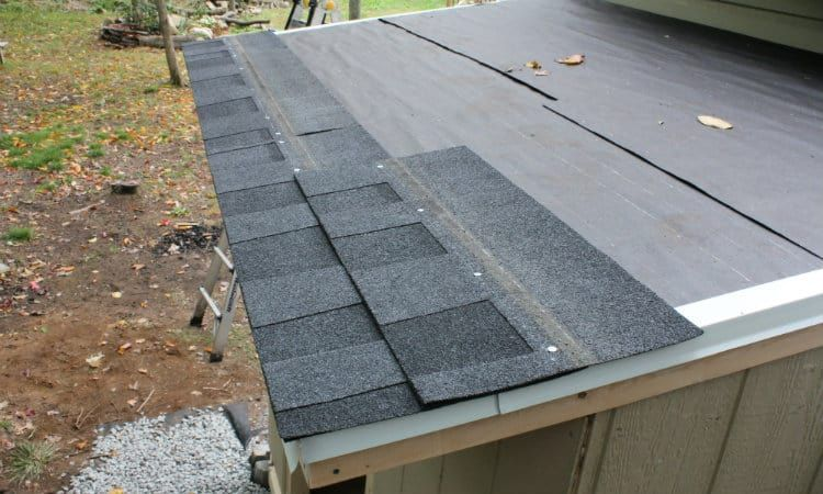 How to Shingle a Shed With 3 Tab and Architectural