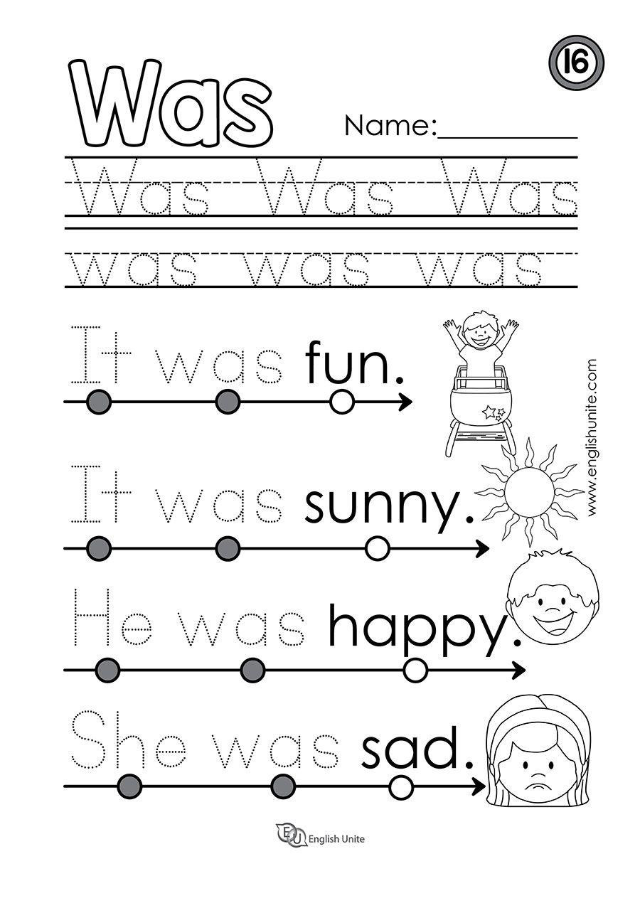 Beginning Reading 26 Am English Unite Kindergarten Worksheets Sight Words Sight Word Worksheets Sight Words Kindergarten [ 1277 x 900 Pixel ]
