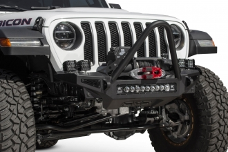2018 2020 Jeep Jl Jt Rock Fighter Stinger Winch Front Bumper