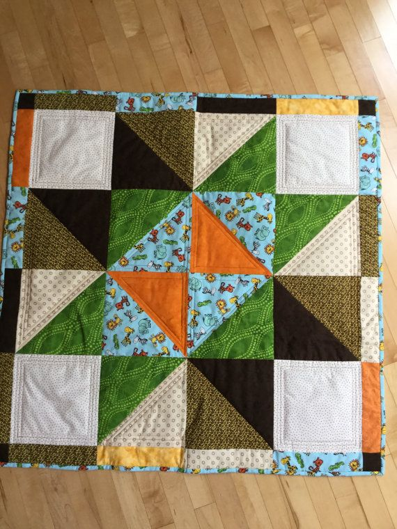 Baby Quilt by BusyHandsHappyHeart3 on Etsy