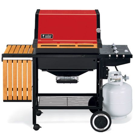 1985 Weber Began Making Gas Barbecues And Launched The Genesis An Updated Version Of Which Is Still Availabl Prefab Outdoor Kitchen Gas Grill Bbq Equipment