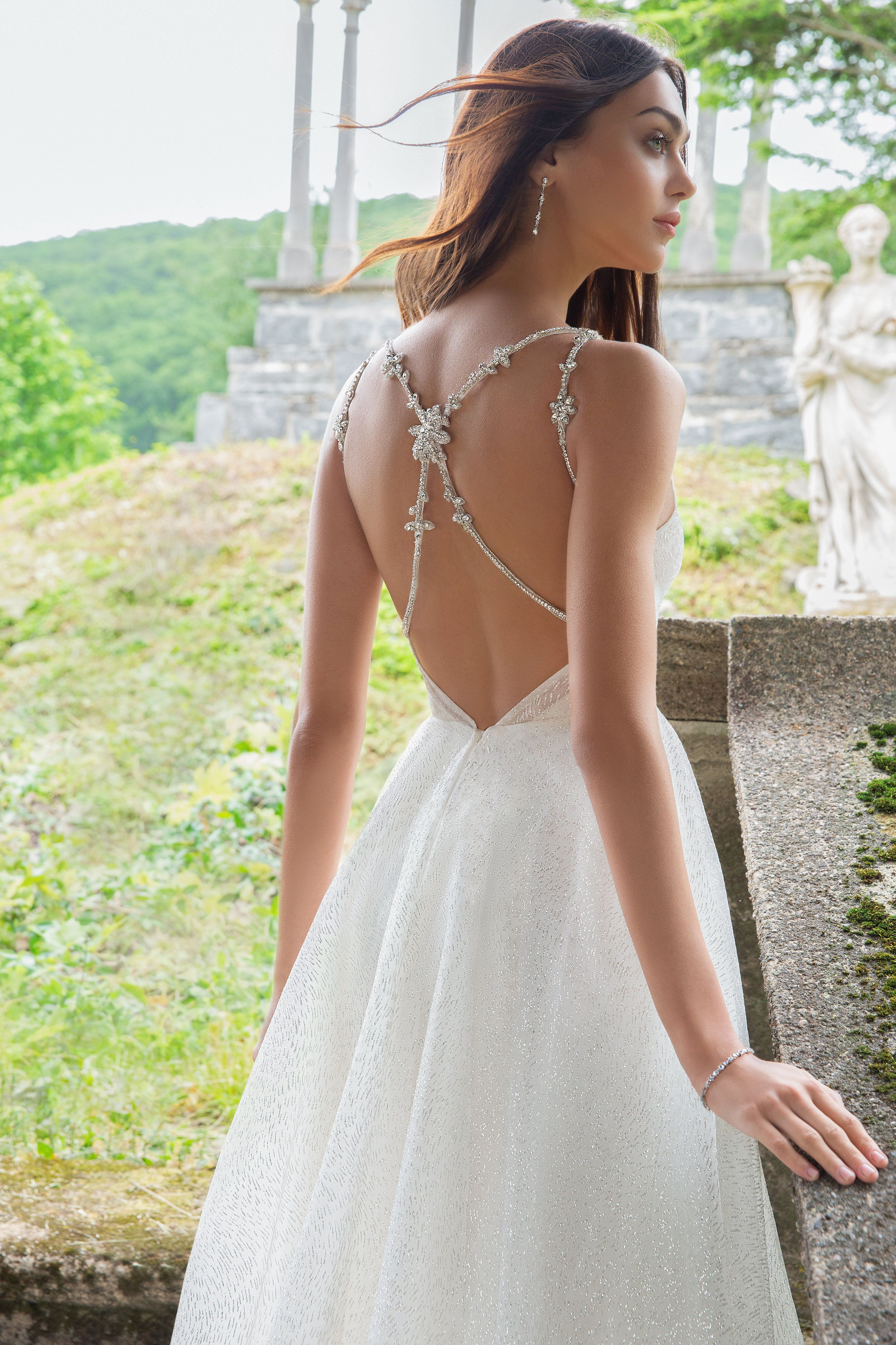 Yesi A Line Bridal Gowns Princess Ball Gowns Luxury Wedding Dress