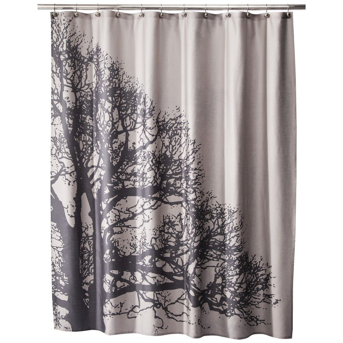 Room 365 Tree Silhouette Shower Curtain Curtains Cool Shower