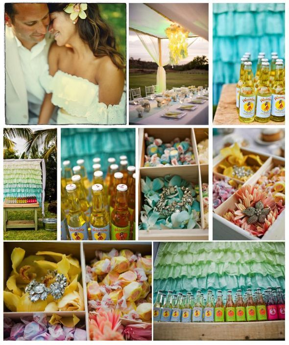Hawaiian Themed Wedding Ideas: Our Theme: Vintage Hawaiian : Wedding Ceremony Hawaiian