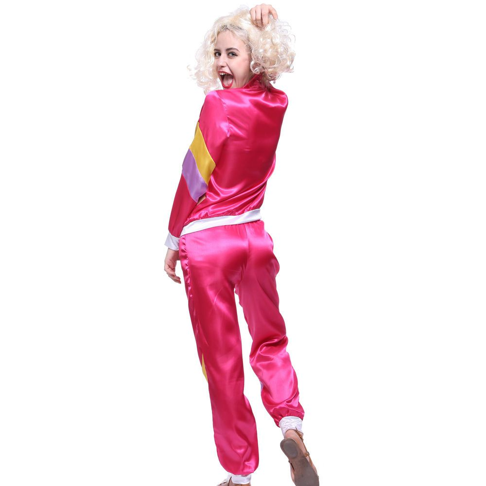 80s Mens Womens Scouser Tracksuit Shell Suit Shellsuit Fancy Dress