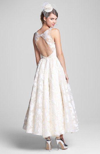 Hayley Paige Tea Length Dress Accessories Short Wedding Gowns
