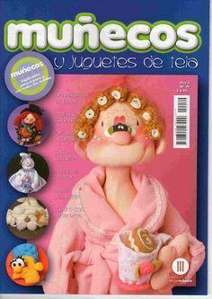 muñecos de mamá en tela