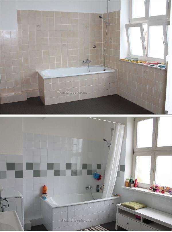 Mein Badezimmer  Vorher Nachher  Badezimmer