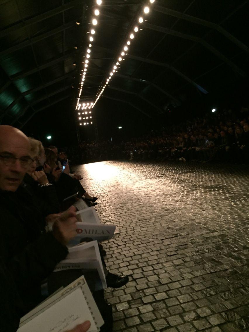Sergio Corneliani catwalk FW 2016 fashion show
