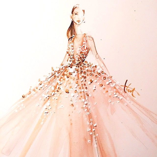 Elie Saab Oscar dress