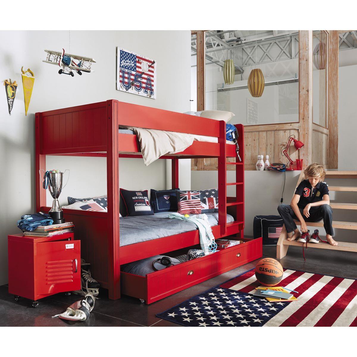 Lampe En Metal Rouge H 49 Cm Pinterest Bed Room Room Ideas And Room