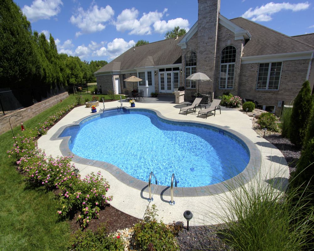 57 - Gemini Pool | Pool Design Ideas in 2019 | Vinyl pool ...
