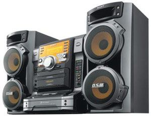 Sony Stereo Shelf System Creative Rents Come In Today