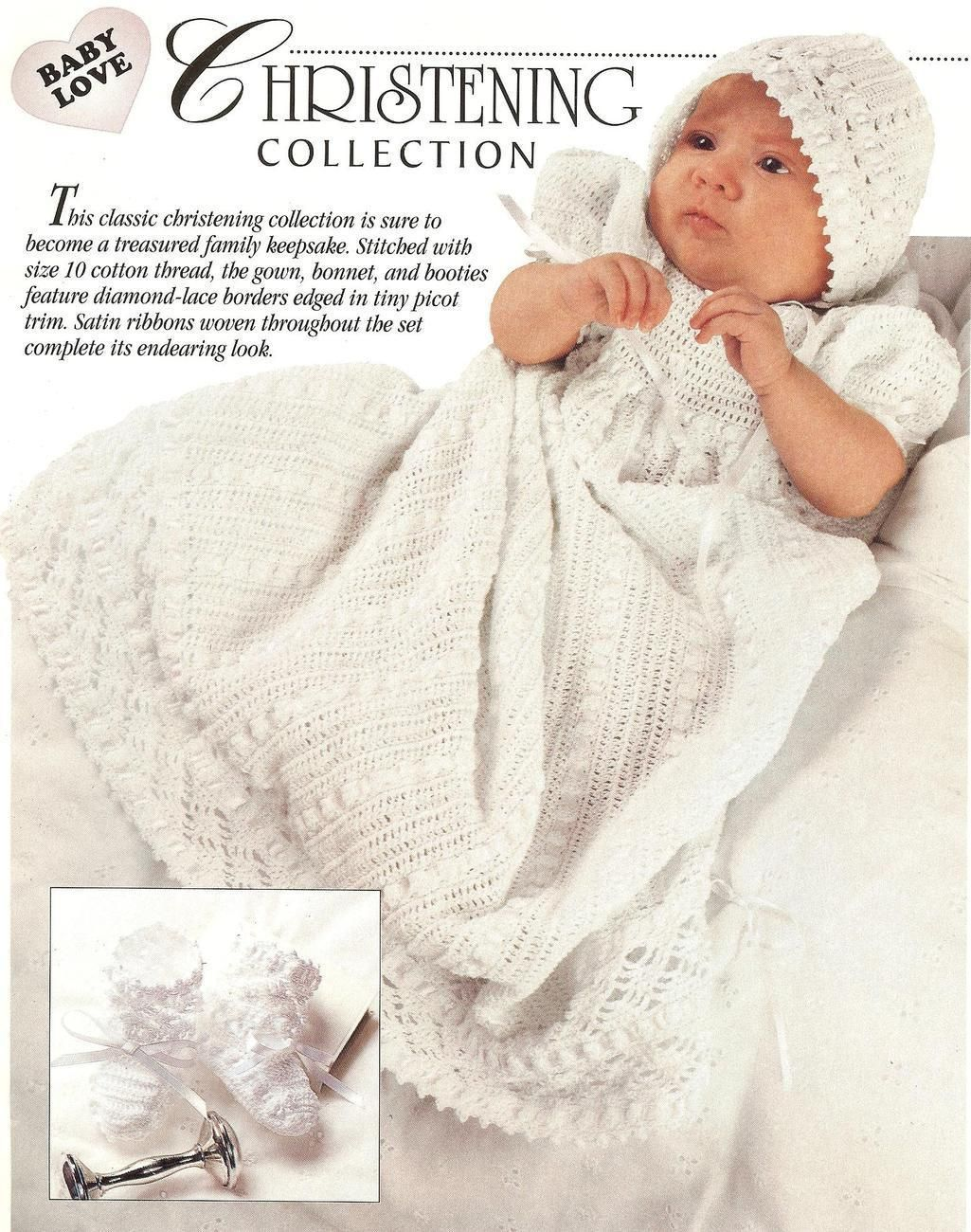 How to Crochet a Victorian Christening Gown | eHow.com | Crochet ...