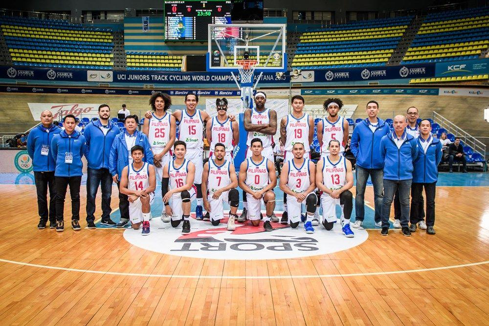 Kazakhstan V Philippines Boxscore Fiba Basketball World Cup 2019 Asian Qualifiers 2019 24 February Fiba Basketball National Basketball League Basketball