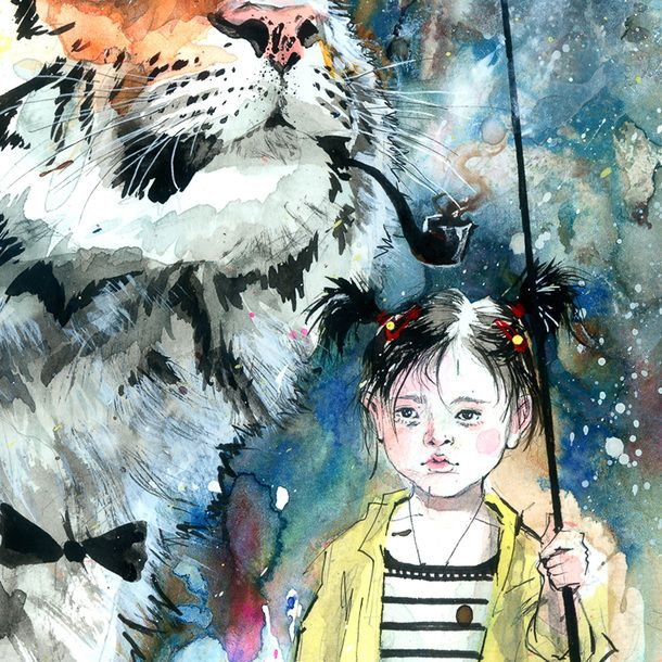 Kunstdruck Mr. Tiger