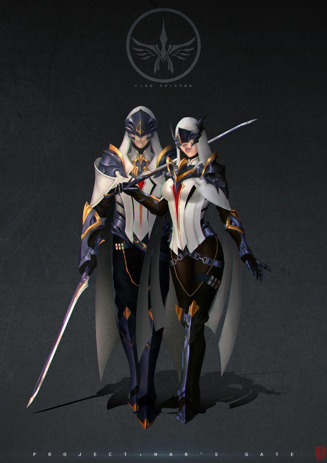 Clan Shikoba, Stephen Lee on ArtStation at https//www