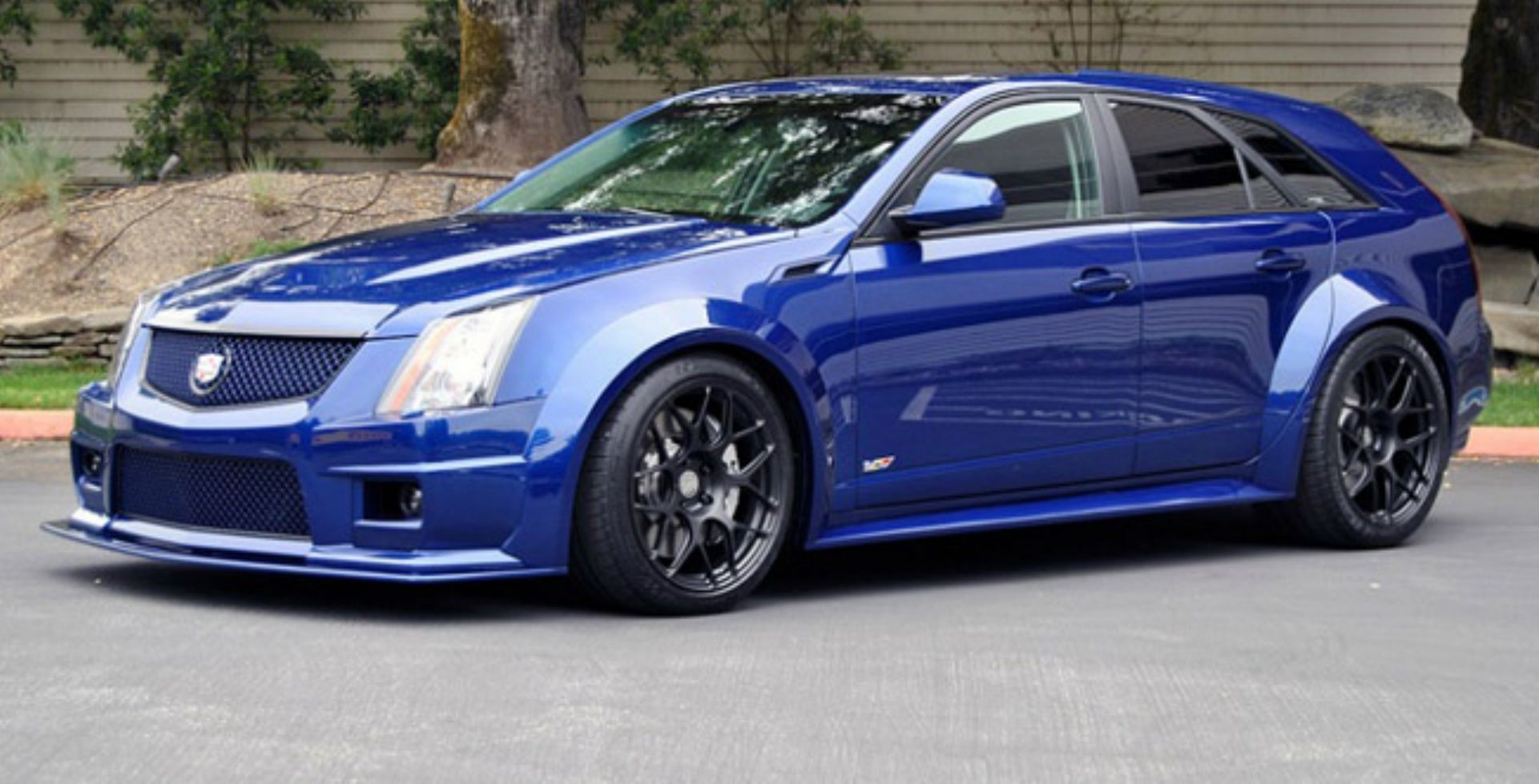 Cadillac cts v wagon with staggered 20 hot rods pinterest cadillac cts cadillac and cars
