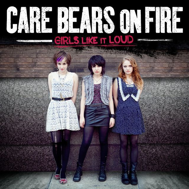 """""""Everybody wants to rule the world""""  Care Bears On Fire"""