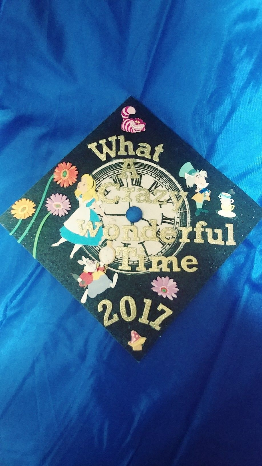 Class Of 2017 My Graduation Cap Alice In Wonderland Theme