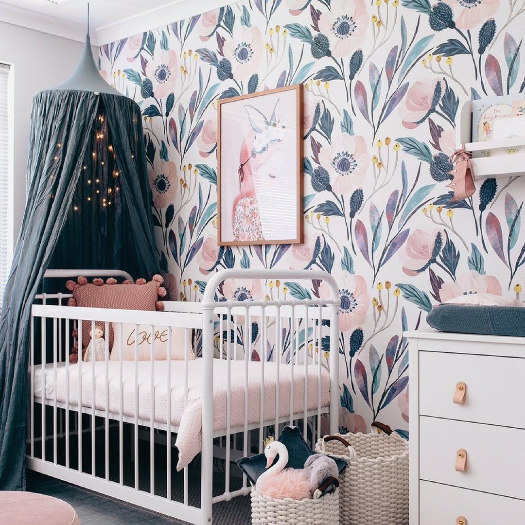 Best 14 Nursery Trends For 2019 Girl Room Baby Room Decor 400 x 300