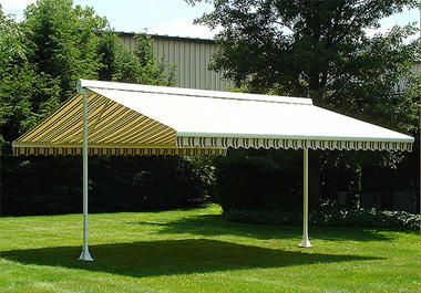 Eclipse Butterfly Free Standing Awning Free Standing Retractable Awning