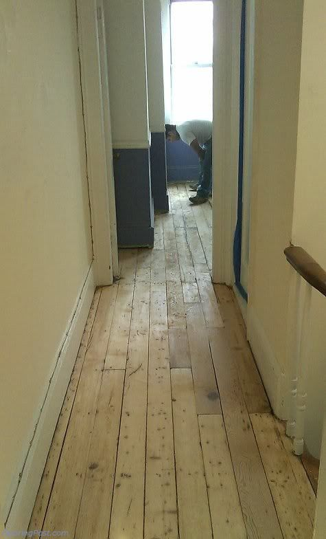 Exceptionnel Refinishing 100 Yr Old White Pine Floor (subfloor, Paint, Living Room,  Kitchen)   House