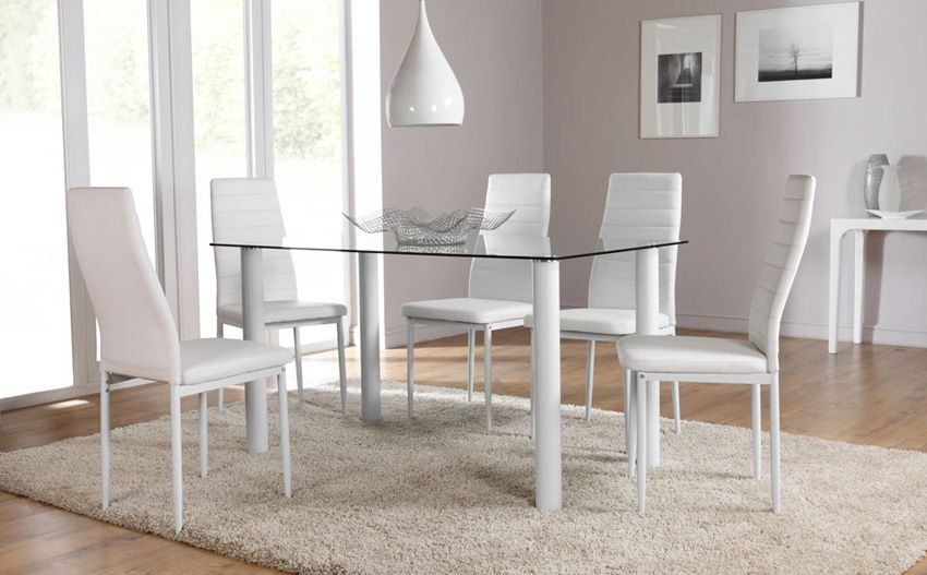 Best 2017 dining room table and chair set choice for 6 dining room