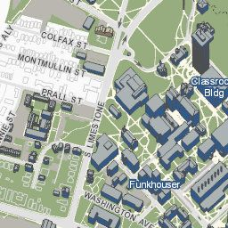 Kentucky Campus Map.University Of Kentucky Official Campus Map Interactive Map Of The