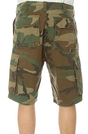 b436b8e7f2 Rothco Shorts Vintage Paratrooper Cargo in Olive Camo - Karmaloop.com