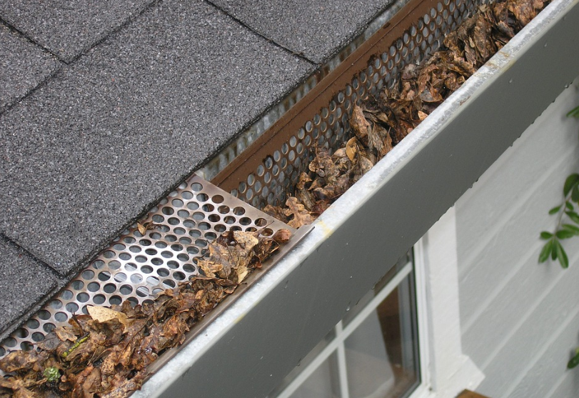 Faq Friday A Commonly Asked Question We Get Asked Is How Do Gutter Guards Keep Leaves Out The Answer Is That How To Install Gutters Home Maintenance Gutters