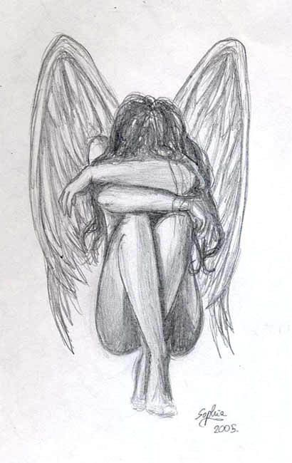 Ange Qui Pleure ange qui pleure | dessin | pinterest | angel, drawings and drawing ideas