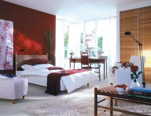 Sinnliches Rot fürs Schlafzimmer rotes Zimmer Pinterest - schlafzimmer ideen altbau